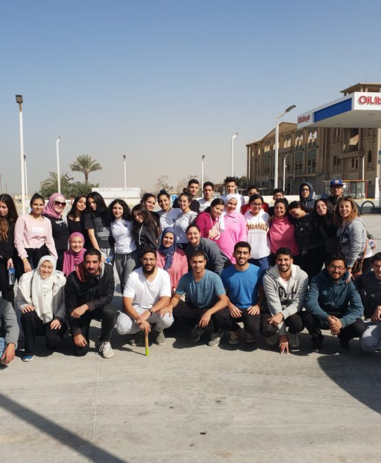 Building a Roof Charity Project at Fayoum