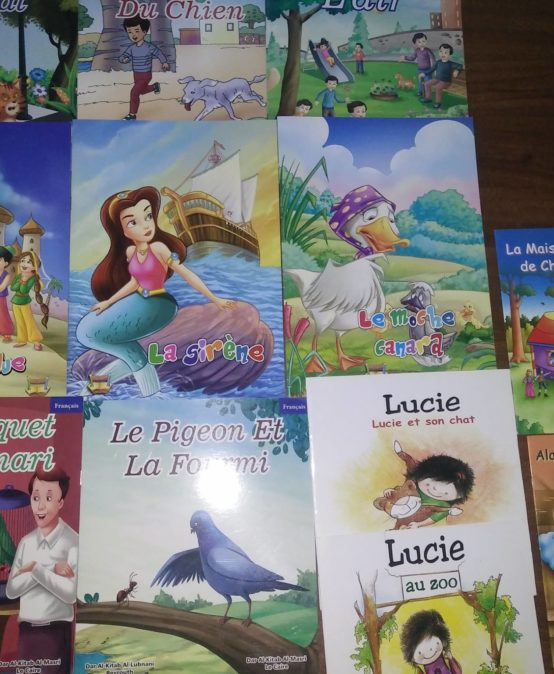 Elementary French stories Project